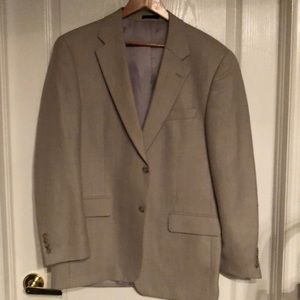 Men's fully lined Linen coat